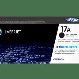 Toner HP 17A negro CF217A