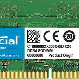 RAM Notebook Crucial CT16G4SFD8266