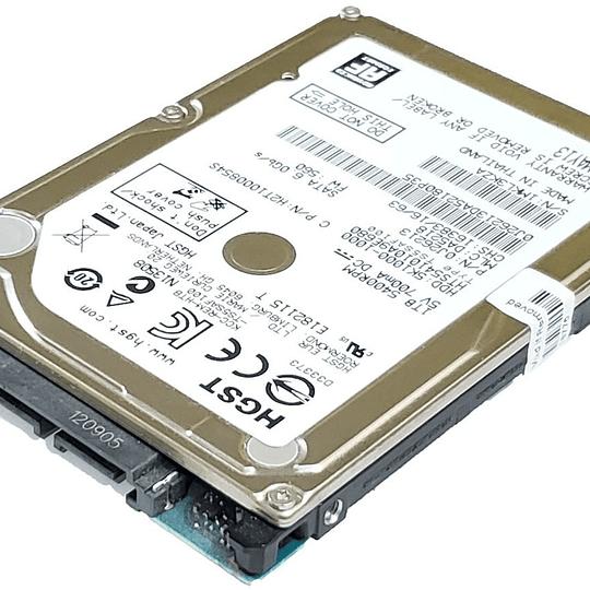 Disco Duro Notebook HITACHI HTS541010A9E680 para Hewlett-Packard () 15-AY196NR Notebook Hewlett-Pack