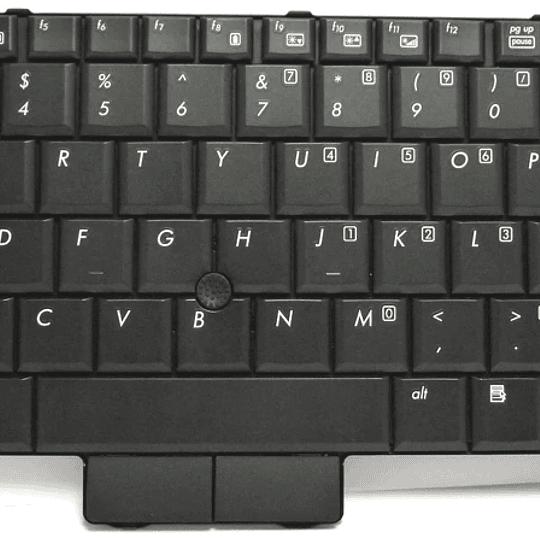 Teclado Notebook HP 506677-161 para EliteBook 2530p Mobile WorkStation