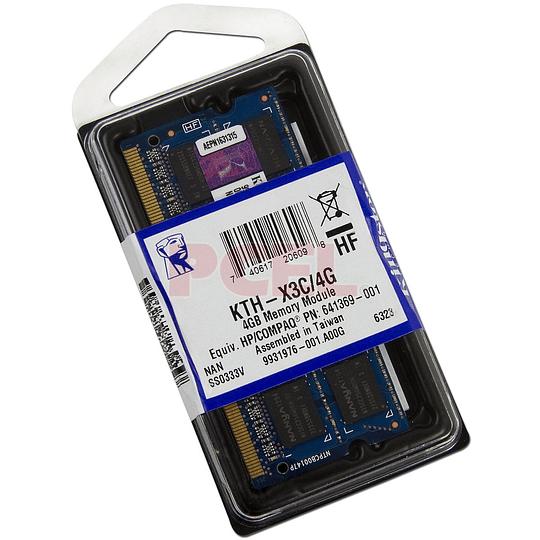 KTH-X3C/4G KINGSTONE MEMORIA 4GB