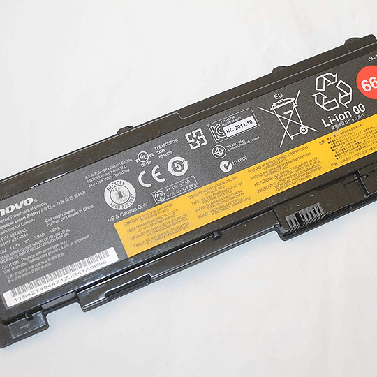 Batería Notebook Lenovo 0A36287 66+ para T420S T420SI