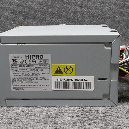Fuente de poder IBM 24R2660 para servidor