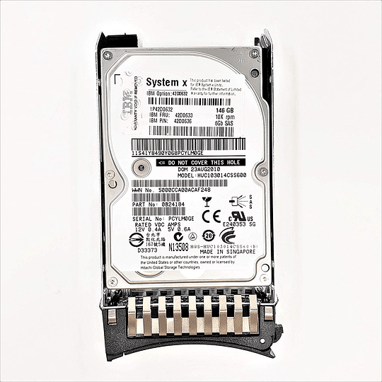 Disco duro para Servidor IBM 42D0633