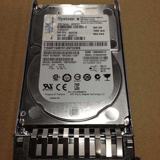 Disco duro para Servidor IBM 42D0708