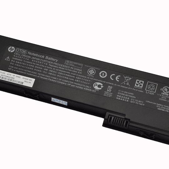 Batería Notebook HP 454668-001 para ELITEBOOK 2730p 2740 2760p