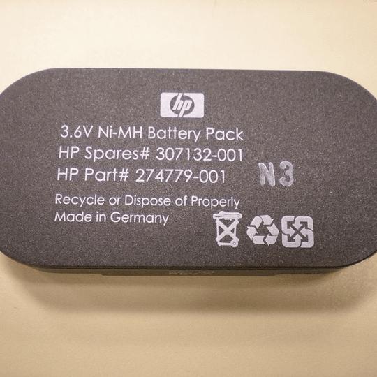 307132-001 HP HP 3.6V NiMH Battery for BBWC Option