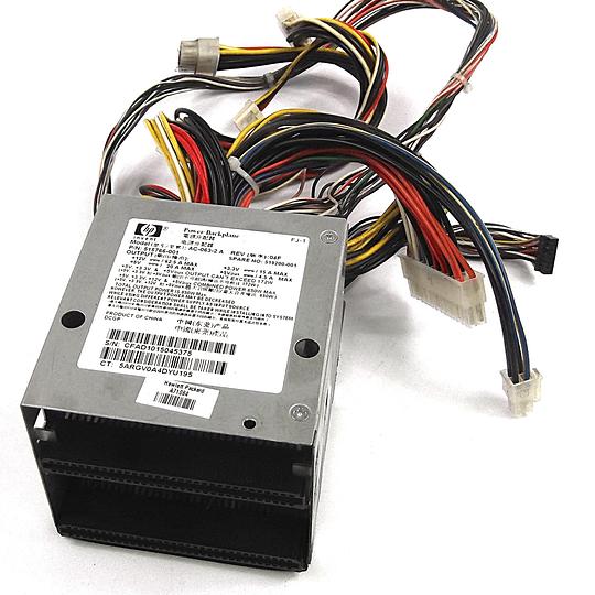 519200-001 HP PC, DC CONVERTER, 2U , BP 750W