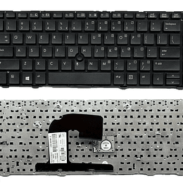 Teclado Notebook HP 641834-001 para EliteBook 8460b Notebook EliteBook 8460p Notebook EliteBook 8460