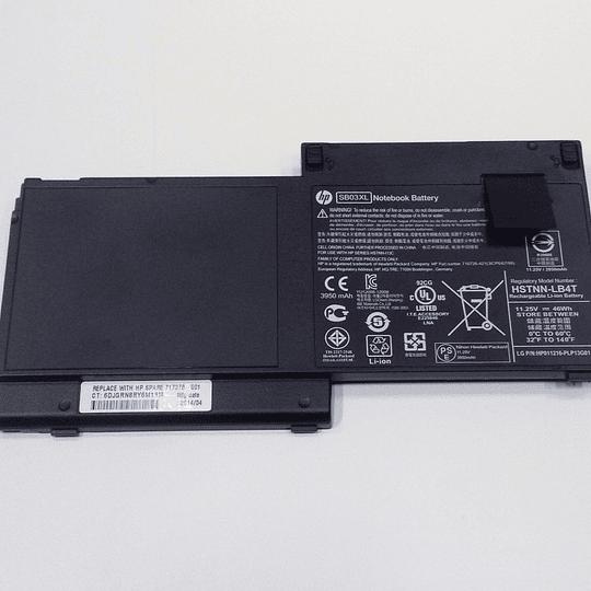 Batería Notebook HP 717378-001 para ELITEBBOK 820 G1 820 G2 755 G3 725 G3 725 G2 720 G2 720 G1 820