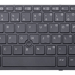 Teclado Notebook HP 730540-001 para ELITEBOOK 820 G1