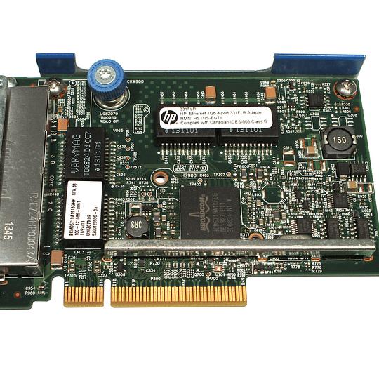 789897-001 HP HP 331FLR ETHERNET ADAPTER 1GB 4-PORT PCI-E 2.0 X4 FLEXIBLELOM