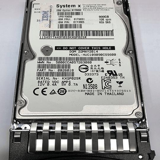 Disco duro para Servidor IBM 81Y9650