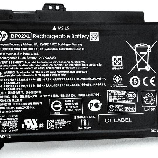 Batería Notebook HP 849909-850 para Pavilion 15-aw004 Pavilion 15-aw004ng Pavilion 15-aw004at