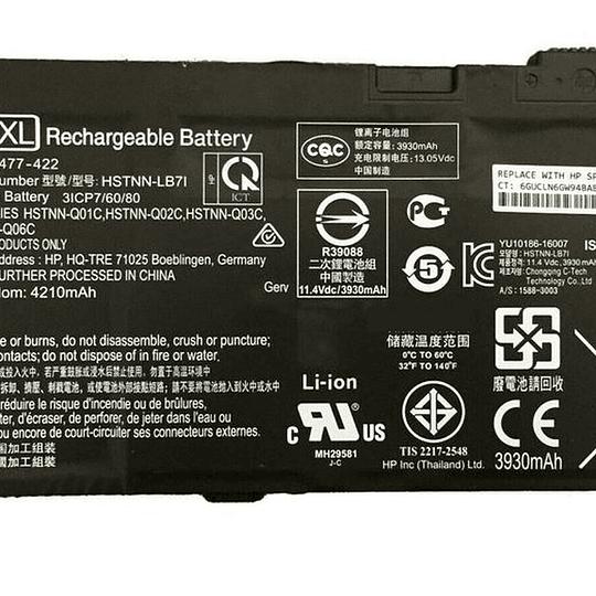 Batería Notebook HP 851610-855 para PROBOOK 430 G4 440 G4 450 G4