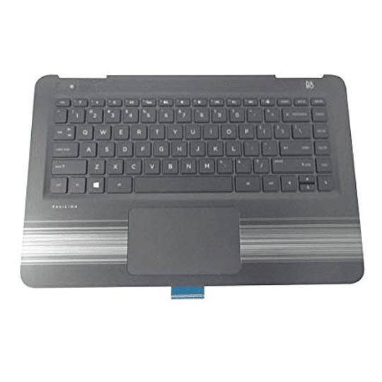 Teclado Notebook HP 856189-001 para Pavilion 14-al00