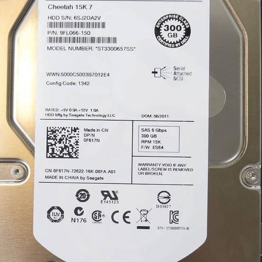 Disco duro para Servidor DELL 9FL066-150