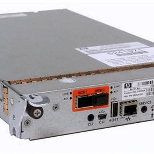 AW595B HP P2000 G3 10GbE iSCSI MSA Array System Controller