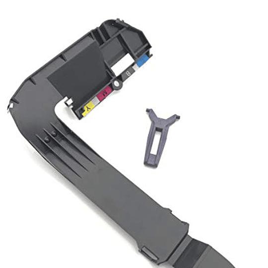 C7769-40041 HP FIX INK TUBES UPP COVER + LOCK
