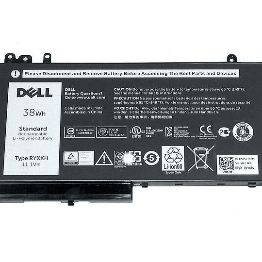 Batería Notebook DELL RYXXH para Latitude 12 E5450 E5550 E5270 E5250 Latitude 11 3150 3160
