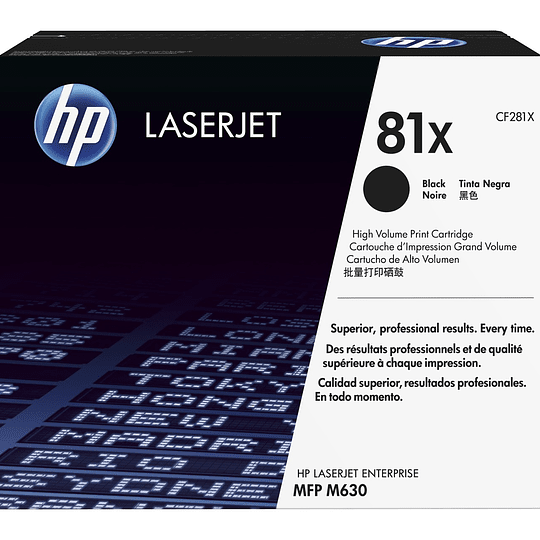 Toner impresora negro 81X HP CF281X
