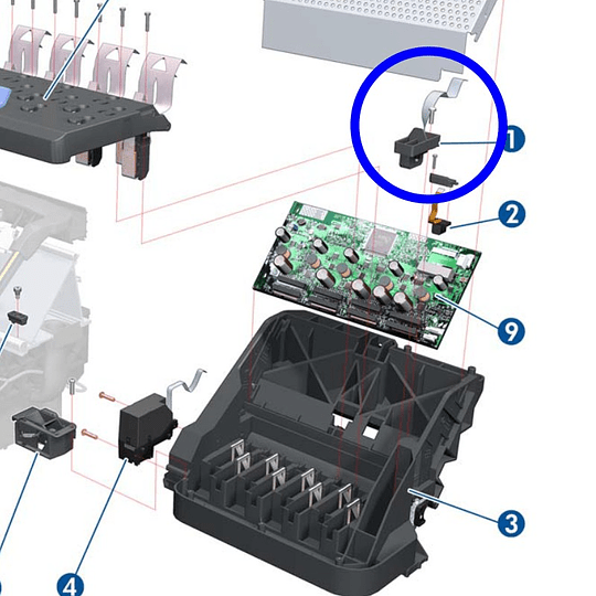 CQ105-60130 HP Line Sensor