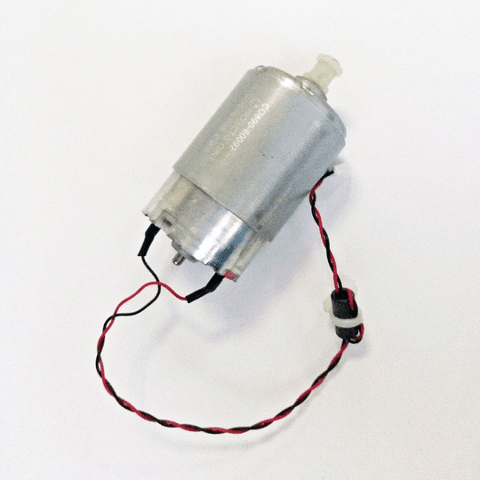 CQ890-67006 HP CARRIAGE MOTOR INCLUDES FLIER