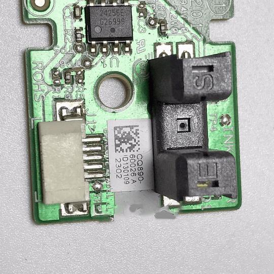 CQ890-67028 HP Ink cartridge door cover sensor
