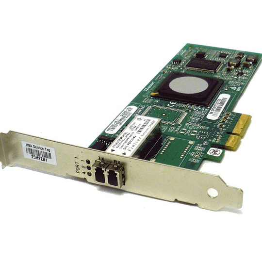 DC774 DELL QLogic QLE2460 4Gb/s Fibre Channel Adapter Card Single Port PCI-e Host Bus Adapter (HBA)