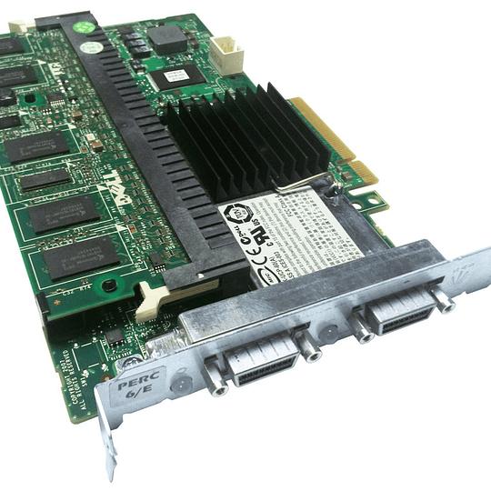 FY374 DELL Controlador RAID SAS FY374 Dell PERC 6 / E de 512 MB