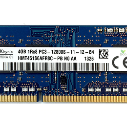 Memoria RAM Notebook HYNIX HMT451S6AFR8C para IdeaPad G580 ThinkPad T530