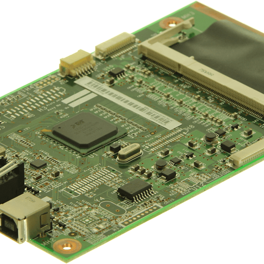 Q7805-69003 HP Formatter PC board assembly. Con conector de red
