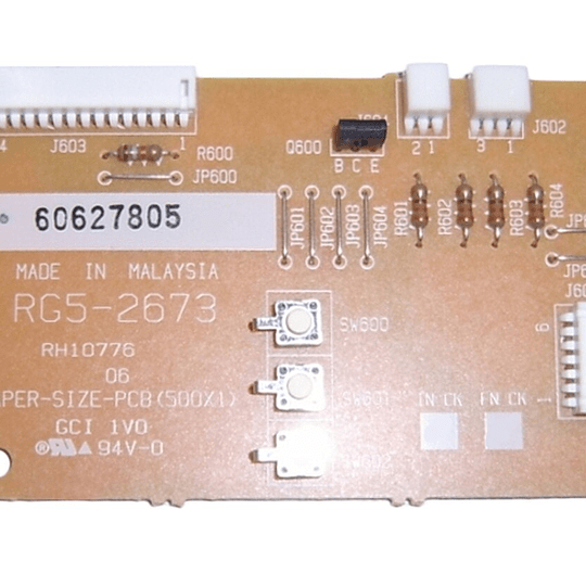 RG5-2673 HP Paper Size PCB Assy