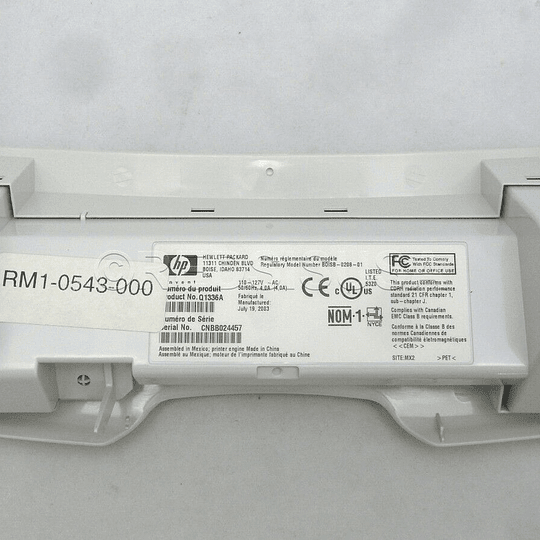 RM1-0543 HP Toner Cartridge Door