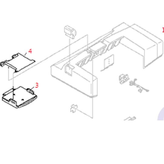 RB1-9088 HP Envelope Feeder Input Tray
