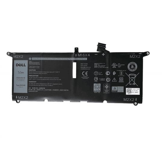Batería Notebook DELL 0H754V para XPS 13-9380, XPS 13 2018, XPS 13 9370, XPS 13 9370 FHD i5, XPS 13