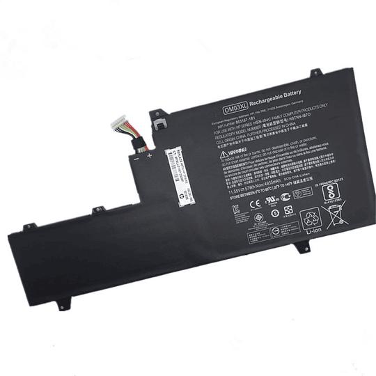 Batería Notebook HP 863280-855 para EliteBook X360 1030 G2 Series EliteBook x360 1030 G2 1GY29PA