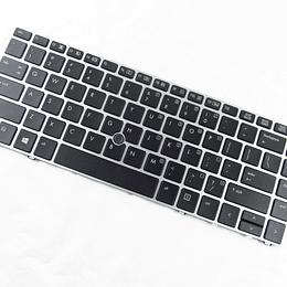 Teclado Notebook HP 697685-001 para ELITEBOOK FOLIO 9470M