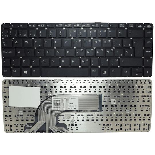 Teclado Notebook HP 721520-161 para PROBOOK 440 G0 440 G1 445 G1 445 G2 440 G2 430 G2 640 G1 645 G1