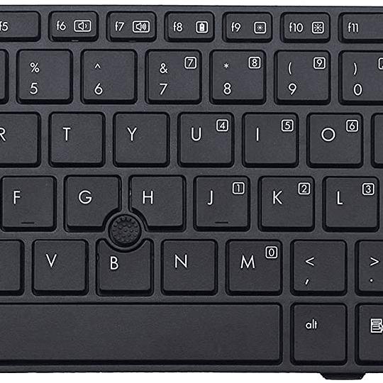 Teclado Notebook HP 686299-001 para ELITEBOOK 8470P