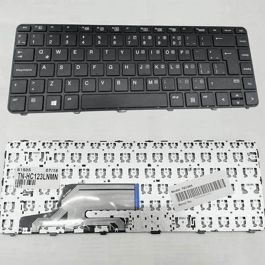 Teclado Notebook HP 826367-161 para Probook 430 G3 430 G4 440 G3 440 G4 445 G3 446 G3