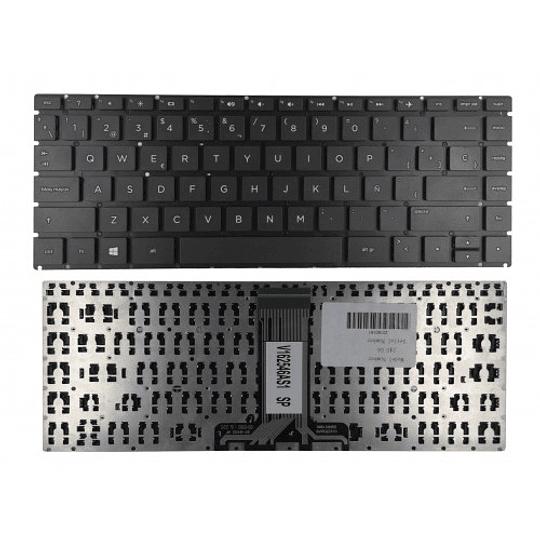 Teclado Notebook HP 929159-161 para 14-BS100, 14-BS500, 14t-BS000, 14-BS057CL, 14-BS023LA, 14-BS02