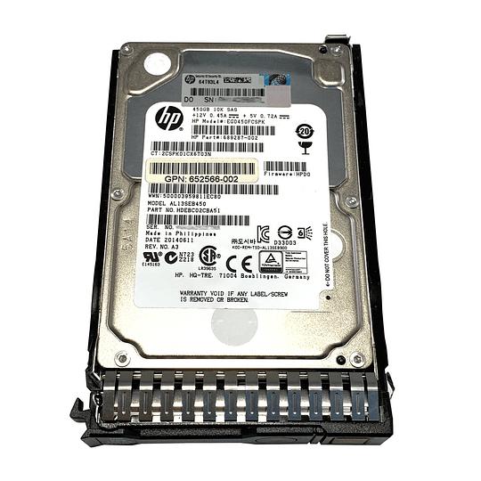Disco duro para Servidor HP 653956-001