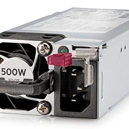 TG HPE 500W Flex Slot Platinum Hot Plug Pwr Sup Kit 865408-B21