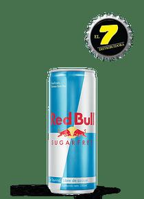 Lata Redbull Sugar Free 250ml x 6 unidades