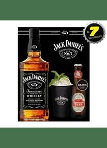 Jack Daniels + Vaso + Cerveza