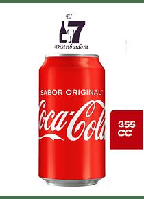 Coca Cola Lata 355 CC Display 24 Unidades