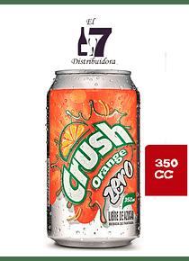 Crush Zero Lata 350 CC Display 24 Unidades