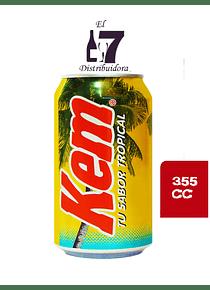 Kem Piña Lata 355 CC Dispaly 24 Unidades