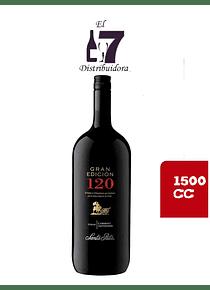 120 Gran Edición Syrah-Cabernet Sauvignon Botellon 1500 CC x 6 unidades